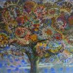 MÓJ ŚLĄSK, Martyna Kliszewska, 100x120cm, akryl, olej na płótnie, prywatna kolekcja, Lublin