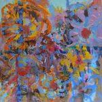 ASTRY, Martyna Kliszewska, 70x70cm, olej na płótnie