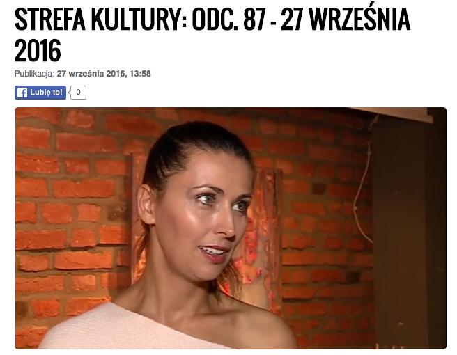Martyna Kliszewska - malarka - wywiad Strefa Kultury