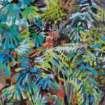 INSIDE, Martyna Kliszewska, olej na płótnie, 130x90cm, 2018r