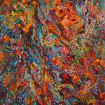KWIATOSTAN, Martyna Kliszewska, olej na płótnie, 130x90cm, 2015r